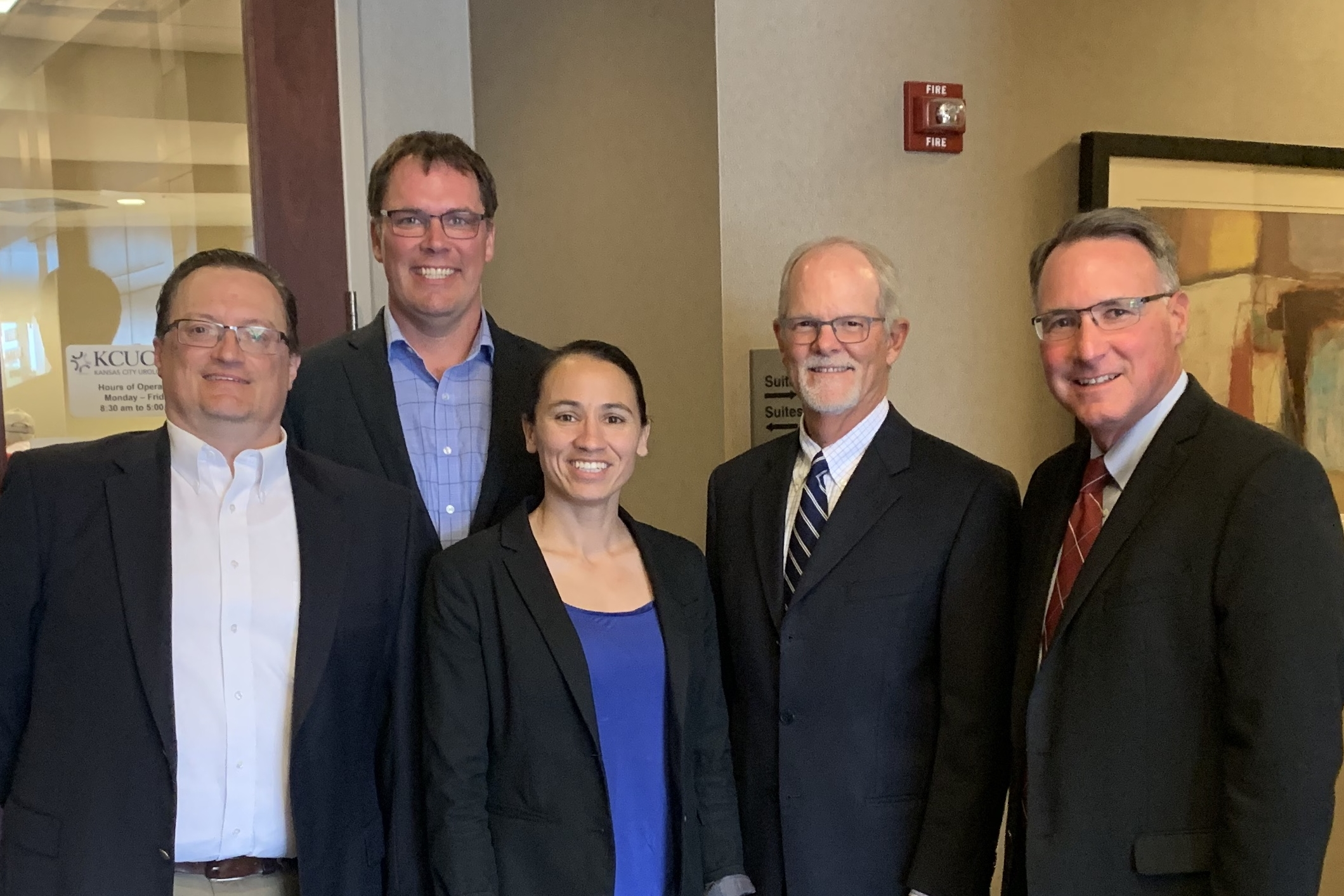 Rep Sharice Davids, D-KS visits Kansas City Urology Care (July 2019).JPG